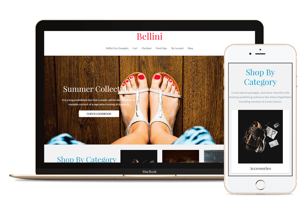 bellini woocommerce theme