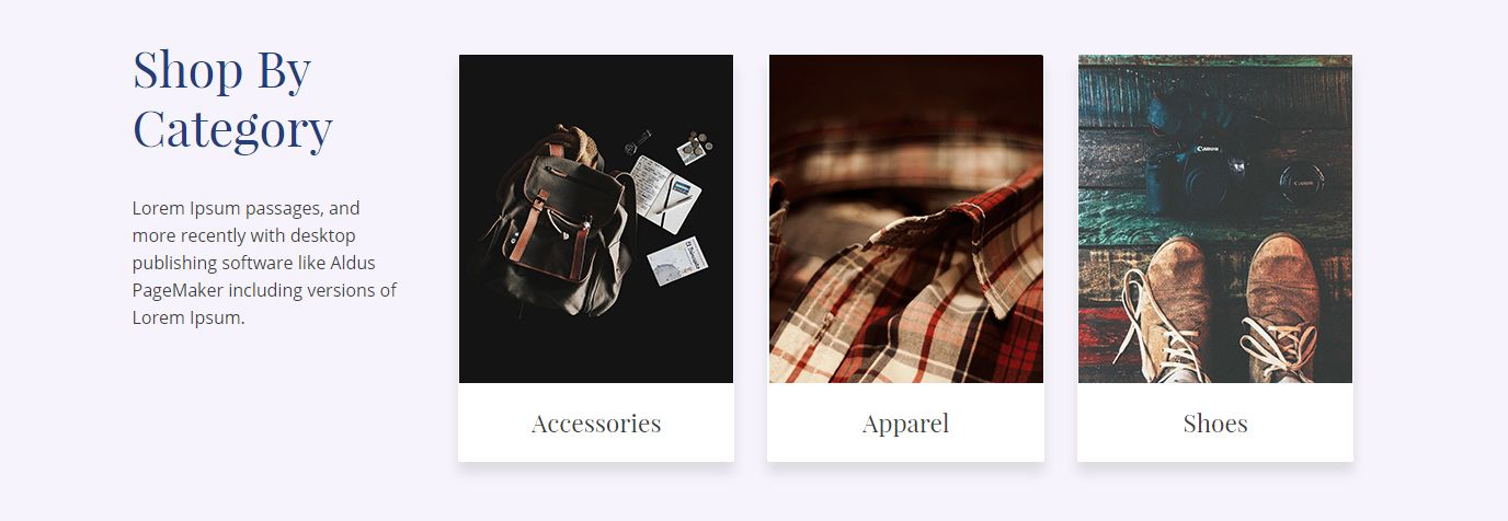 Product Category - Bellini WordPress Theme